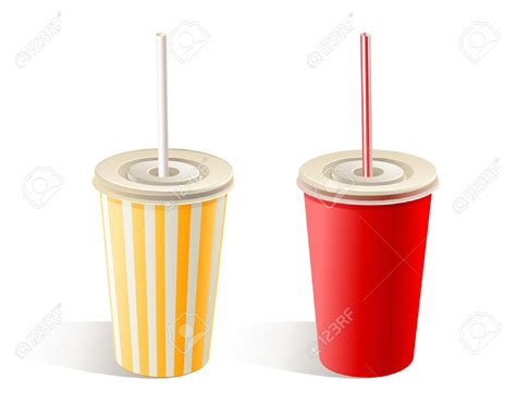 cup cuisine cup with straw clipart 54