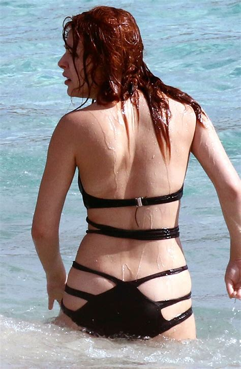 Elena Satine S Bikini Photos In Miami Gceleb