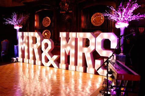 marry me light up letters light up letters for hire mighty fine entertainment
