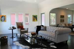 Kuhfell Teppich Weiß : super elegante wohnzimmer als vorbilder moderner einrichtung ~ Yasmunasinghe.com Haus und Dekorationen