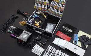 Amazon Com  Solong Tattoo Complete Tattoo Kit 4 Pro