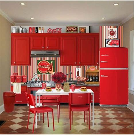 coca cola decorations best 25 coca cola kitchen ideas on cocoa cola