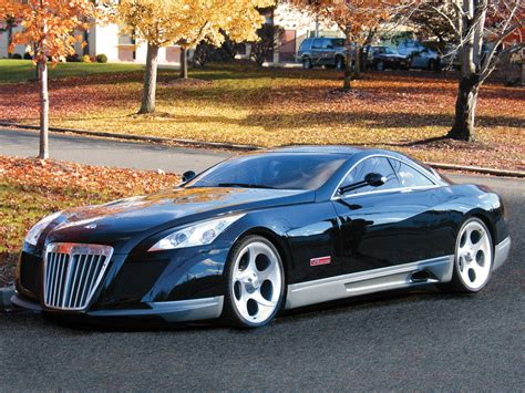 Maybach Car : Review Maybach Exelero