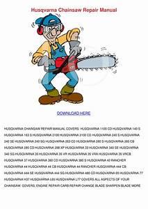 Husqvarna Chainsaw Repair Manual By Tammarasilverman