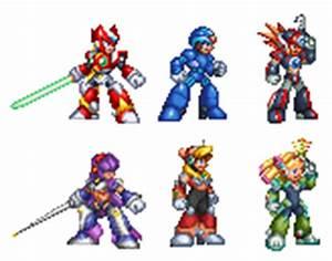 sprites rockman or megaman online 32-bit by kensuyjin33 on ...