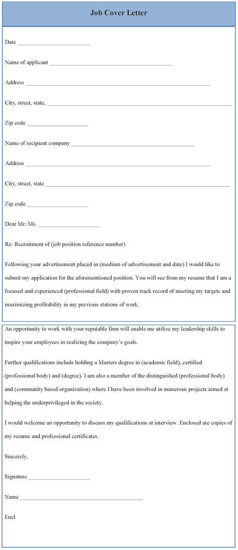 application letter sle cover letter template