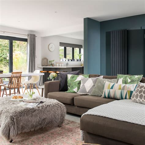 open plan living room ideas  inspire  ideal home