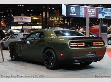 Dodge Challenger TA in F8 Green BenLevycom