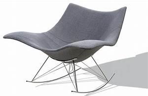 Chaise Scandinave A Bascule : chaise a bascule pas cher ~ Teatrodelosmanantiales.com Idées de Décoration