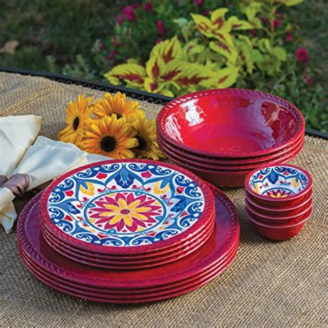 melamine dinnerware plates piece sets dishes outdoor plastic club unbreakable tableware sam plate yellow shipping colors serving indoor assorted sams