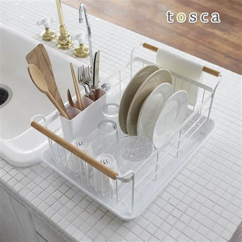 kitchen sink with dish drainer rupola rakuten global market dish drainer basket tosca 8570