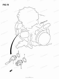 Suzuki Atv 2006 Oem Parts Diagram For Fan Switch