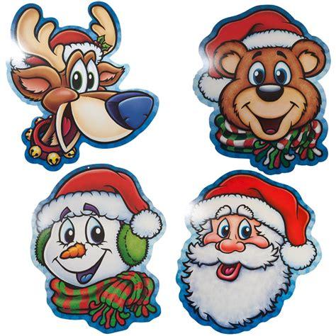 christmas character cutouts