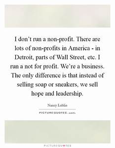 Non Profit Quotes | Non Profit Sayings | Non Profit ...