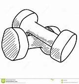 Weightlifting Kilogram sketch template