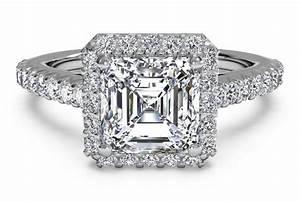 faq how do i choose an asscher cut diamond ritani With asscher cut wedding rings