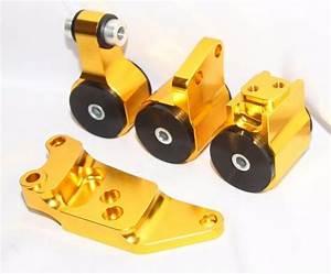 Gold Engine Motor Mount Kit Fits 2006