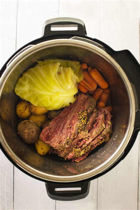 This recipe is very easy, basic and impossible to get wrong. Instant Pot Corned Beef and Cabbage | Happy Money Saver