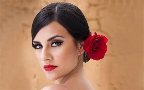 Flamenco Dancer #makeup & #hair #halloween #danceremoji