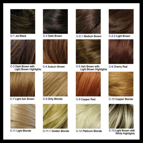Shade Hair Color by Hair Coloring Guide New Revlon Hair Shade For 2013