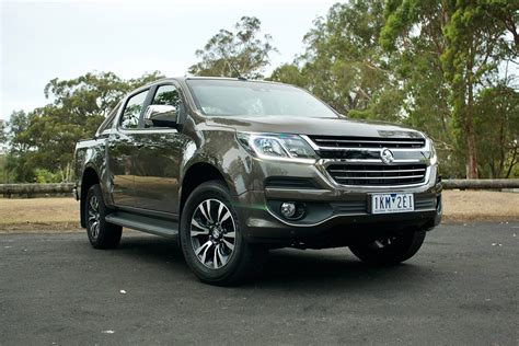 The 2020 holden colorado will stay in the same shape and with the same styling as the current version. Holden Colorado 2018 review   CarsGuide