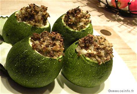 cuisiner les courgettes rondes courgettes rondes farcies au bœuf les légumes farcis