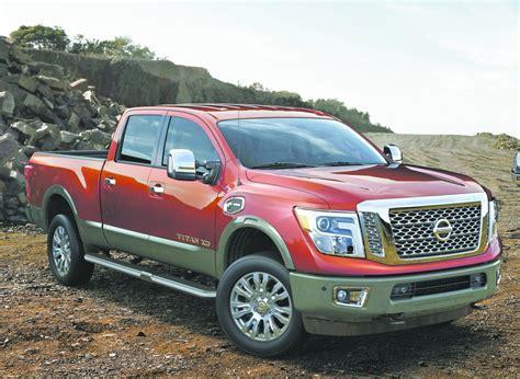 2016 nissan titan xd all new 2016 nissan titan xd diesel pickup now on sale