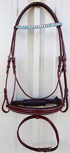 Horse English Jumping Dressage Show Bridle Crystal Bling ...