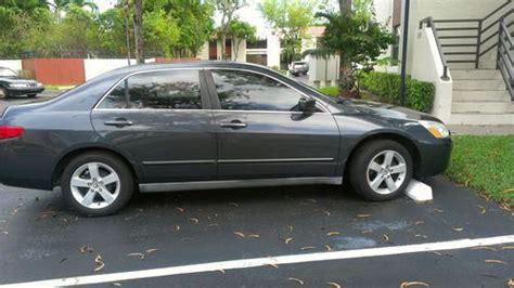 2005 honda accord 2 door buy used 2005 honda accord lx sedan 4 door 2 4l in miami