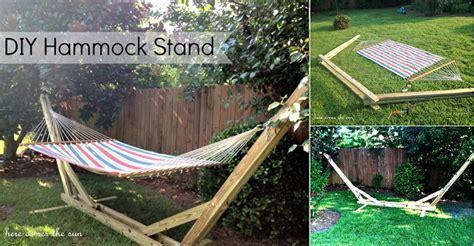Diy Hammock Stands by Diy Hammock Stand Home Design Garden Architecture