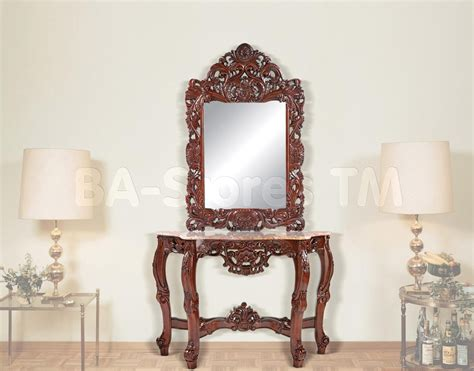 floor mirror console table console table design luxury mirror and console table sets