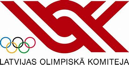 Committee Olympic Latvian Wikipedia Svg