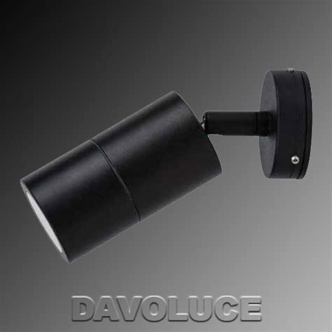 hv1225 matt black single adjustable led dimmable wall