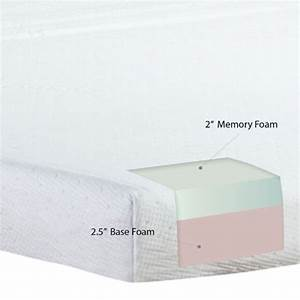 product reviews buy classic brands memory foam sofa With sofa bed replacement mattress memory foam