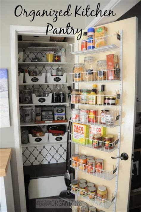 Organizing Pantries A Pantry Organized And All Prettied Up Part 1