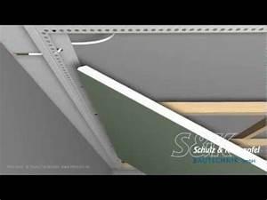 Abgehängte Decke Mit Led : led trockenbauprofil f r freie schwebende fl chen mit unterkonstruktion youtube decke ~ Indierocktalk.com Haus und Dekorationen