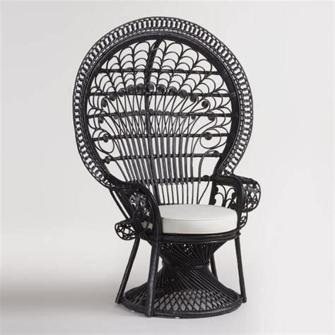 painted dining chairs black wicker peacock chair market