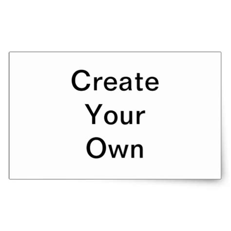 create your own custom graffiti gifts rectangular sticker