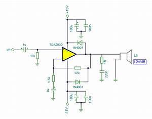 Tda2030 10w Audio Amplifier Circuit