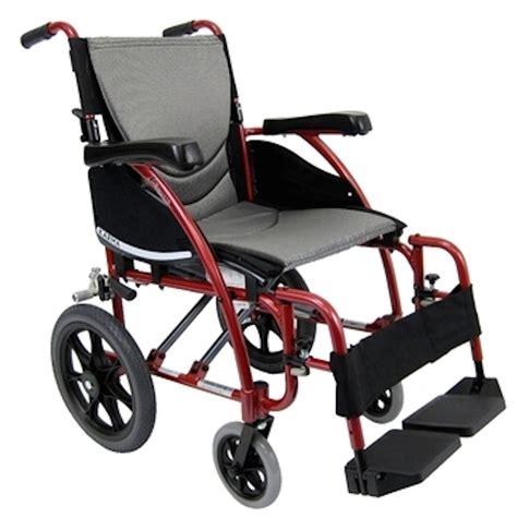 karman s ergo 115 tp lightweight folding transport