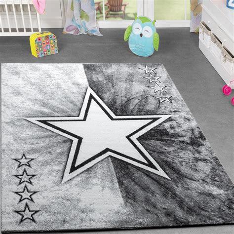 Kinder Teppich Jugend Teppich Modern Stern Design