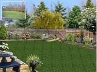 backyard landscape plans Landscape Design Software Gallery