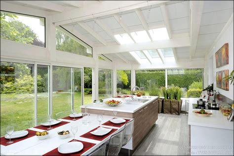 cuisine veranda davaus modele cuisine dans veranda avec des idées