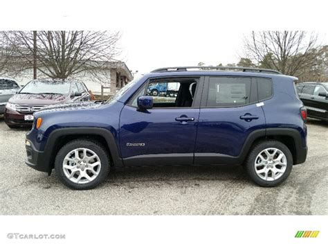 jeep renegade trailhawk blue jetset blue 2016 jeep renegade latitude exterior photo