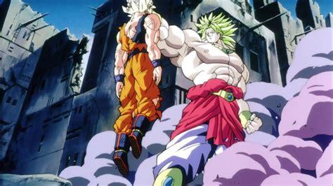 Dragon Ball Broly Vs Goku