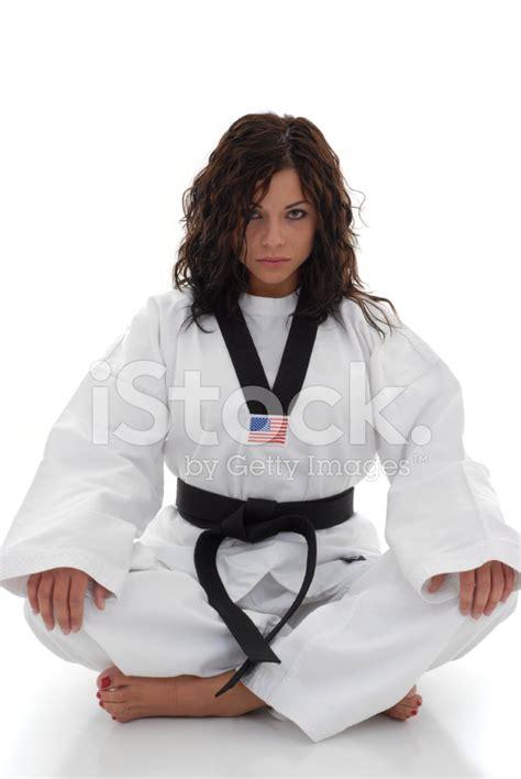 Female Martial Arts Fire Stock Photos - FreeImages.com
