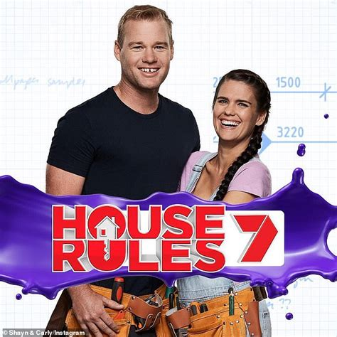 house rules star carly reveals  heartbreak daily mail