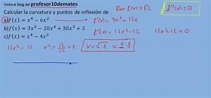 Curvatura Y Puntos De Inflexi U00f3n 1 Polinomio 1