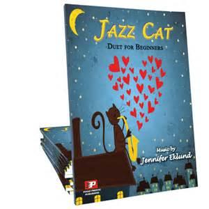 jazz cat jazz cat sheet piano pronto publishing