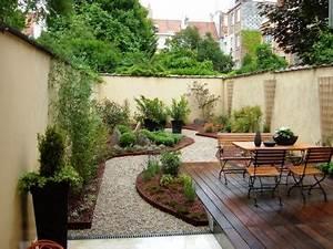 Decoration Jardin Terrasse : d coration terrasse jardin gravier ~ Teatrodelosmanantiales.com Idées de Décoration